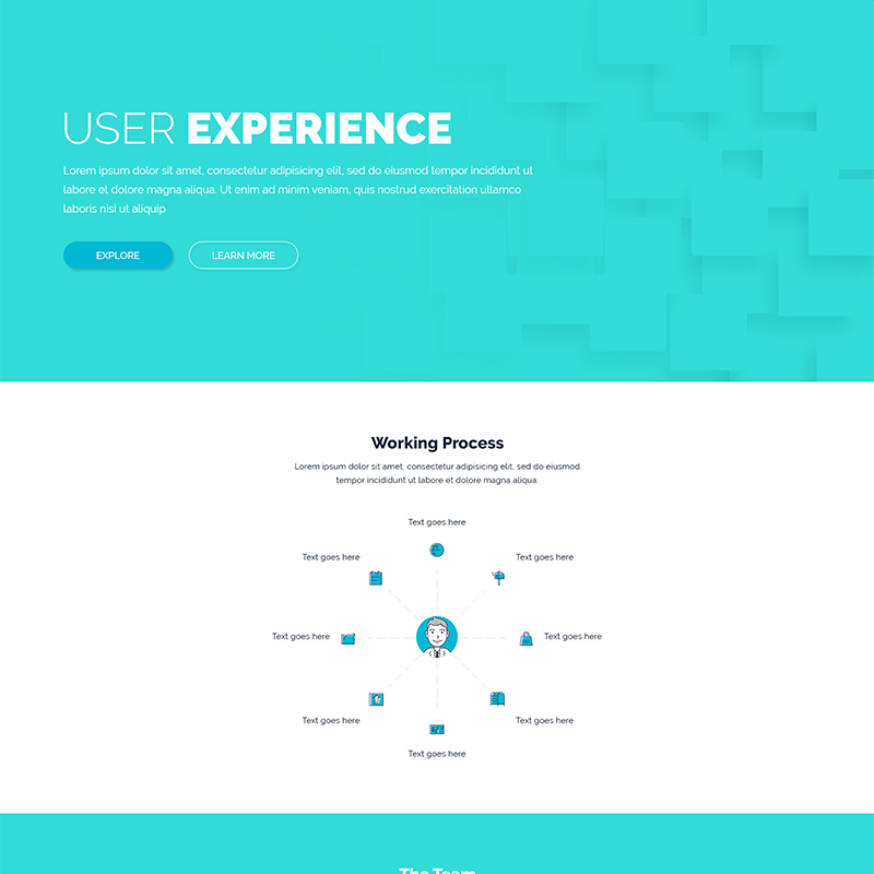 Dart Page – HTML Template