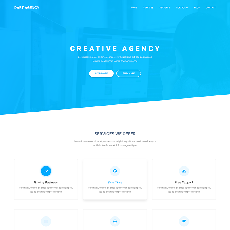 Dart Agency – HTML Template