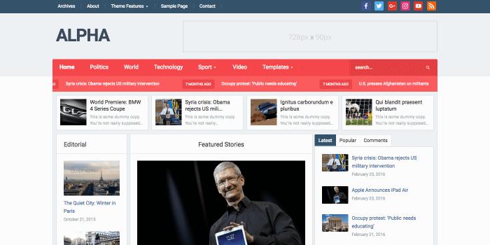 WordPress theme affiliate marketing