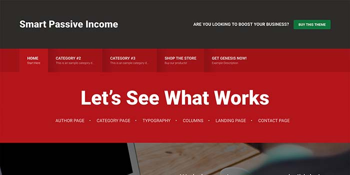 WordPress theme for affiliate marketers